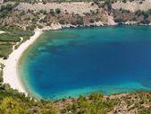 Elinda beach in Chios - Greece — Stock Photo