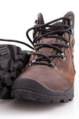 Mountain boots — Stock Photo