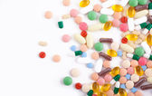 Pills, tablets and capsules — Stock Photo