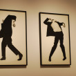 Robert Longo exhibition at CCB, Portugal - Foto Stock