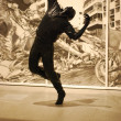 Robert Longo exhibition at CCB, Portugal — Stock Photo