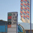 Stock Photo: Jet Oil gas station