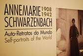 Annemarie Schwarzenbach exhibition at CCB, Portugal — Stock Photo