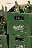 Mythos beer — Stock Photo