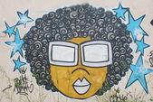 Urban graffiti-wand — Stockfoto