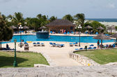 Verandah resort swimming pool — Stock Photo