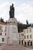Gualdim Pais statue — Stock Photo