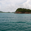 Antigua sea — Stock Photo