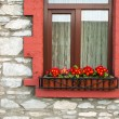 Irish window — Stock Photo #9980649