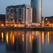 Limerick at night - Stock Photo