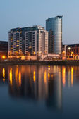 Limerick at night — Stock Photo