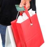 Plastic shopper — Stock Photo