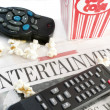 Stock Photo: Entertainment news