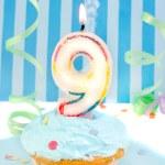 Boy's ninth birthday — Stock Photo #7974159