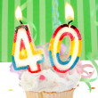 40th birthday — Stock Photo