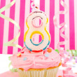 Stock Photo: Young girl's birthday