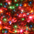 Blurred twinkling lights — Stock Photo