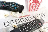 Entertainment news — Stock Photo
