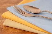 Dinner napkins — Stock Photo