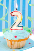 Boy's second birthday — Foto Stock