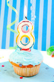 Boy's third birthday — ストック写真