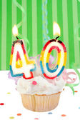 40th birthday — Stockfoto