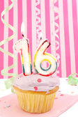 Teenage girl birthday — Stok fotoğraf