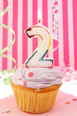 Baby girl's birthday — Stockfoto