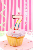 Young girl's birthday — Stock Photo