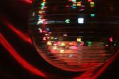 Spinning disco ball — Stock Photo