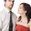 Cute young couple — Stock Photo