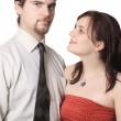 Cute young couple — Stock Photo #8017915