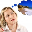 Beach dreaming — Stock Photo