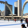 Royalty-Free Stock Photo: Skaters in Toronto