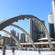 Stock Photo: Skaters in Toronto