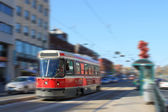 Toronto streetcar transportation — Stock Photo