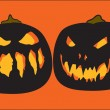 Halloween pumpkins — Vetorial Stock #8062631