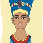 Nefertiti — Stock Vector
