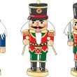 Nutcrackers — Stock Vector
