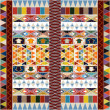 Ethnic carpet design — Grafika wektorowa