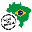 Made in Brazil — Stock Vector