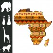 Africa design — Stock Vector