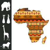 Africa design — Vector de stock