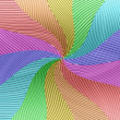 Stock Photo: Rainbow swirl background