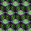 Clock seamless texture — Stock Photo