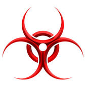 Sign - biohazard — Stock Photo