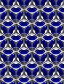 Costruzione astratto. computer generato render - 3d immagine — Foto Stock