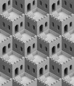 Castle seamless texture — Stock Photo