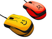 Mouse with emotion — Stockfoto