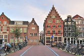 Amsterdam, staré město — Stock fotografie